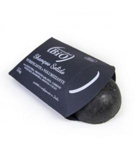Shampoo Solido PURIFICANTE Nero - 55gr- Parentesi Bio