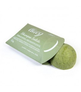 Shampoo Solido Idratante Ricostituente Verde - 55gr- Parentesi Bio