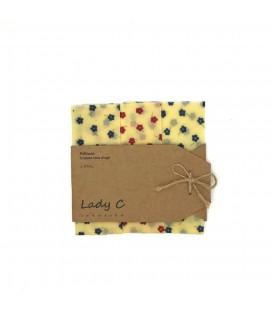 Pellicole in Pura Cera D'api SMALL x 3 pz - Lady C Creation