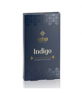 Hennè Indigo Puro 100% Capelli Castano Scuro/Neri - 100gr - Isha Cosmetics