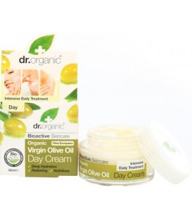 Crema Giorno all'Olio di Oliva - Olive Day Cream 50 ml - Dr Organic