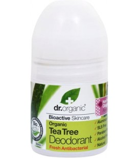 Deodorante al Tea Tree 50 ml - Dr Organic