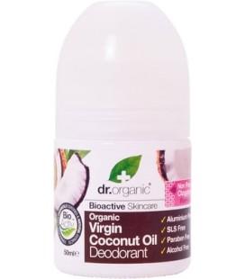 Deodorante all'Olio di Cocco 50 ml - Dr Organic