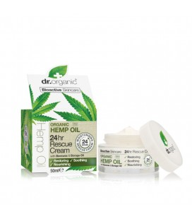 Crema Giorno Biologica all'Olio di Canapa - Hemp Rescue Day Cream 50 ml Dr Organic