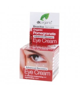 Contorno Occhi Anti-Age al Melograno - Pomegranate Eye Cream 15 ml - Dr Organic