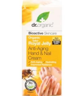 Crema Mani alla Pappa Reale - Royal Hand&Nail Cream 125 ml - Dr Organic