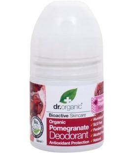 Deodorante Biologico al Melograno - 50 ml - Dr Organic
