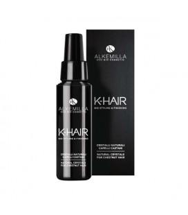 Linea K-hair - Cristalli Naturali Capelli Castani 250 ml - Alkemilla