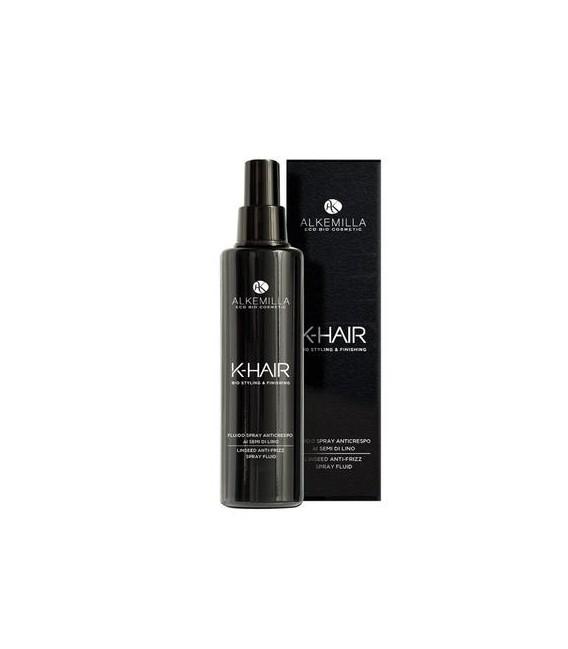 Linea K-hair - Fluido Spray Anticrespo ai Semi di Lino - Alkemilla