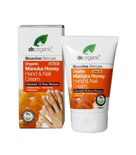 Crema Mani - Manuka Honey Hand&Nail -125 ml Dr Organic
