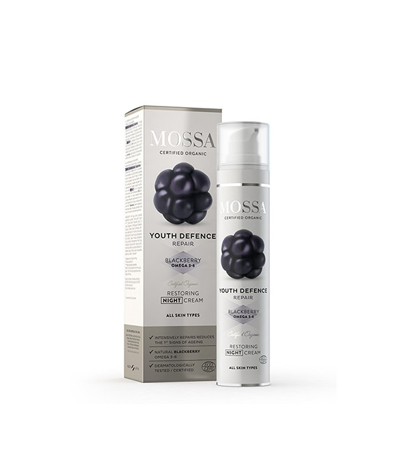 Crema Viso Notte - Restoring Night Cream - Mossa