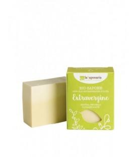 Sapone all'olio extra vergine - EXTRAVERGINE 100gr - La Saponaria