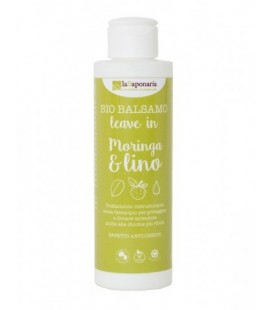 Balsamo Leave in Moringa & Lino 150 ml - La Saponaria