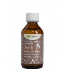 Olio di Semi di Lino Bio 100 ml - EXP. 02/20 La Saponaria