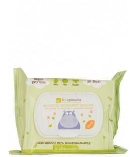 Salviette Detergenti Delicate 20 pz - La Saponaria