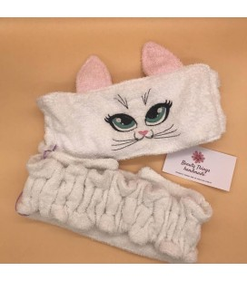 "Fascia ""Gattina"" Panna Le Coccolose - Beauty Things Handmade"