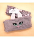 "Fascia ""Gattina"" Grigia Le Coccolose - Beauty things handmade"